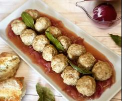 Polpette al Varoma® con cipolle di Tropea agrodolci