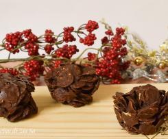 Dolcetti cioccolato e corn flakes