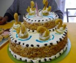torta lago dei cigni