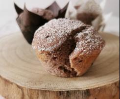 Muffin Bimby cioccolato e lamponi
