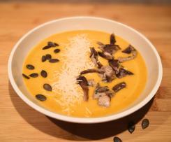 Contest funghi: vellutata d'autunno