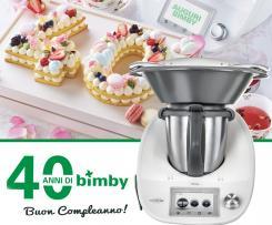 CREAM TART - TORTA UFFICIALE PER I 40 ANNI DI BIMBY