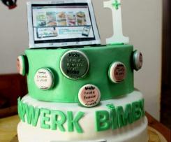torta buon compleanno BIMBY