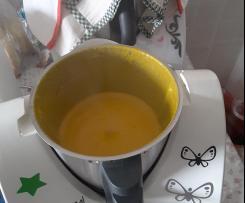 Variante di Vellutata di carote con semi di amaranto