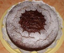 Torta Ricotta Amaretti Cioccolato
