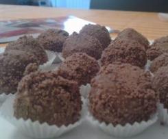 cioccolatini all'aroma di arancia
