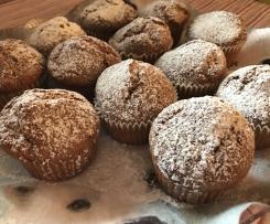 Muffins dolci alle zucchine