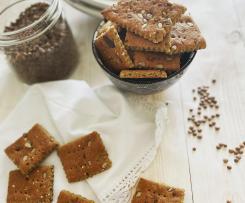 Crackers di lenticchia contest ricette energetiche
