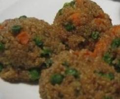 Polpette alla quinoa  (DIV ADDA)
