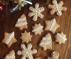 Biscotti di Pan di Zenzero - Variante di Mr. and Mrs. Gingerbread