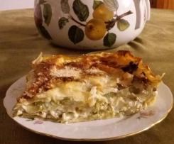 Lasagna al forno carciofi e zucchine