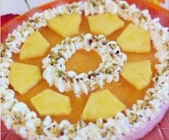 Cheseecake all'ananas