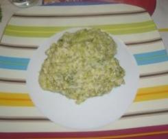 risotto con i broccoli (veloce e facile)