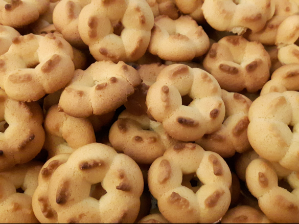Biscotti di frolla montata (senza lattosio)