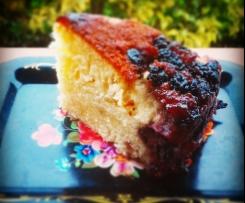 Torta di mele e more caramellate in pentola-CONTEST FESTA DELLA MAMMA