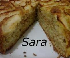 TORTA DI MELE, MANDORLE E LIMONCELLO (senza burro né olio)