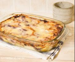Lasagne radicchio e fontina
