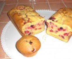 Plumcake alle more o frutti di bosco