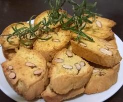 CANTUCCI AL ROSMARINO (contest biscotti salati)