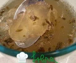 Gelatina morbida di lime e rhum