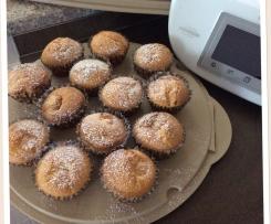 Muffins cuore di pardula