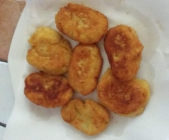 Crocchette di patate con fecola