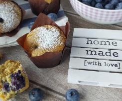 Muffin senza glutine con mirtilli