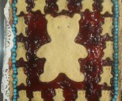 crostatina rossa orso yoghi