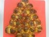 Alberello di Natale di panbrioche
