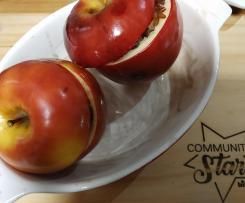 Mele rosse ripiene di riso arancio-CONTEST MELE