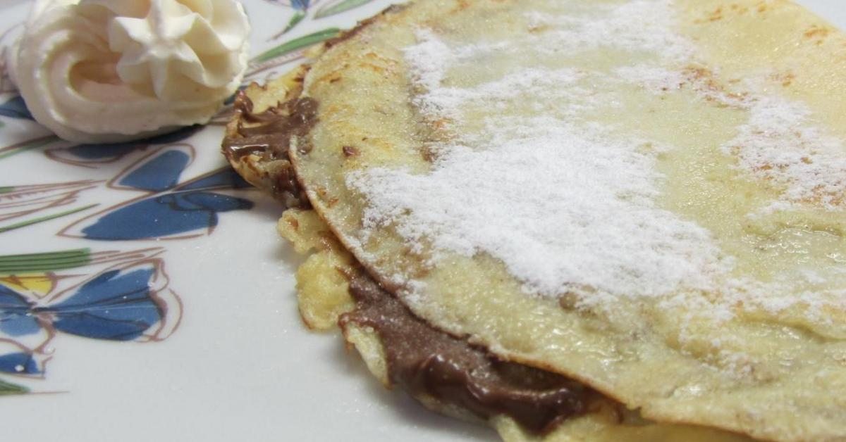 Le crepes dolci ricetta