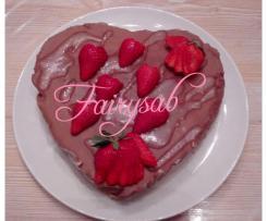 Torta mousse al cioccolato & mandorle (semidreddo veloce senza cottura) -contest 40 anni Bimby -