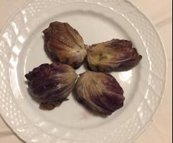 Involtini radicchio e carne macinata