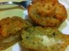 Muffin di melanzane con sorpresa
