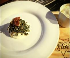Antipasto di Baccalà Erbe Selvatiche e Besciamella all'aglio / con ausilio Bimby Friend