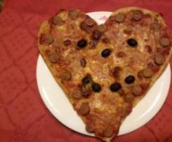 """pizza """"speciale festa del papa' """""""