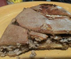 Strudel con farina di ceci ricotta e cioccolato-contest strudel