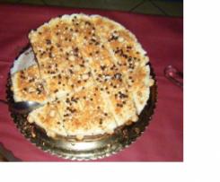 Semifreddo al mascarpone, amaretti, nocciole e gocce di cioccolato
