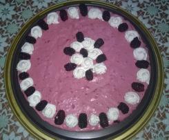 Torta estiva con le more