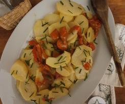 Peperoni e patate sottovuoto