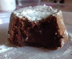Tortino al cioccolato dal cuore morbido - speedy version