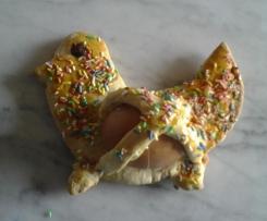 Cudduri cu l'ova (specialità di Pasqua siciliana)