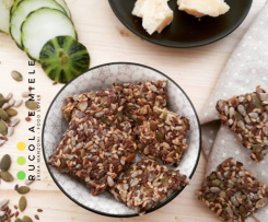 Keto crackers ai semi (vegan e glutenfree) senza farina