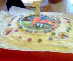 Ciambellone (base per torta di compleanno)