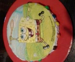 Torta compleanno senza burro e uova