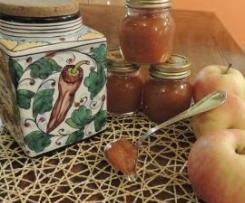 Marmellata di zucca, mele e peperoncino