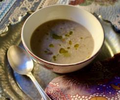 Zuppetta fagioli borlotti e patate