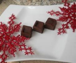 Cioccolatini con Ripieno alla Menta (Natale)