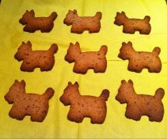 I BAUscotti ovvero biscotti ai mirtilli