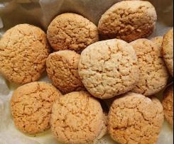 Biscotti mandorle e miele senza lattosio